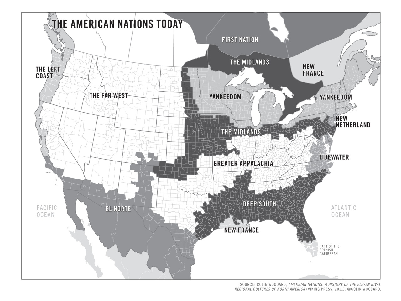 Us history regional differences of north