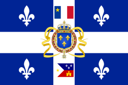 Flag of New France-A
