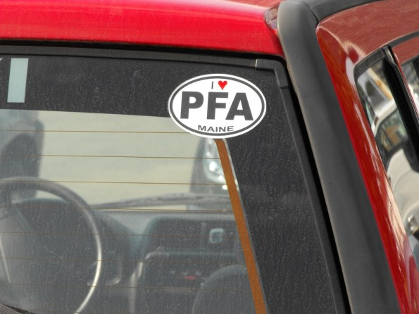 PFA Sticker