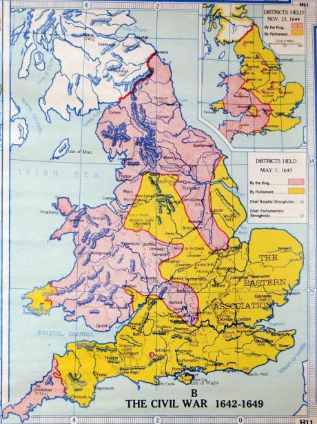 english civil war outbreeders vs inbreeders