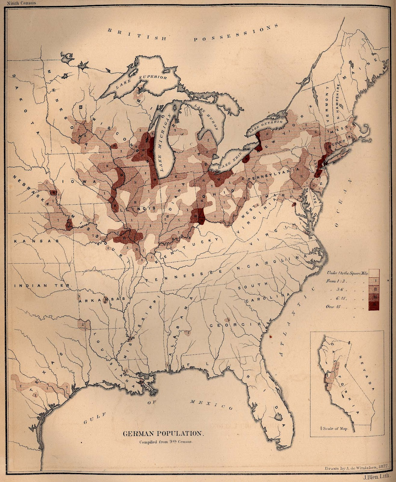 Map German 1870 US JayMans Blog