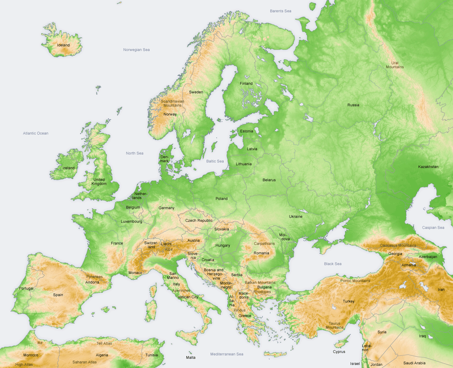 How Inbred Are Europeans JayMans Blog - Sweden map mountains