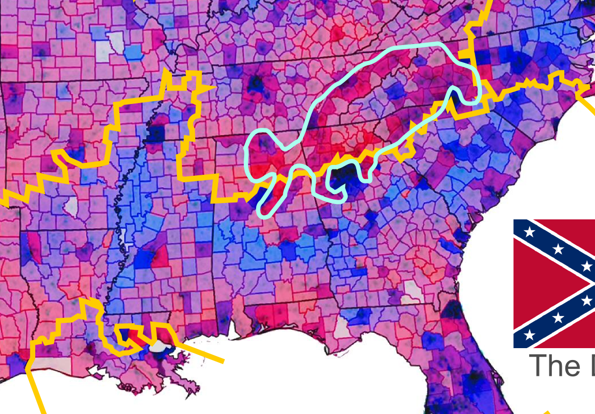 Rural White Liberals A Key To Understanding The Political Divide - Whitest Plaaes In Us Map