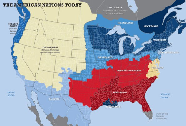 More Maps Of The American Nations JayMans Blog - Us Map Voting