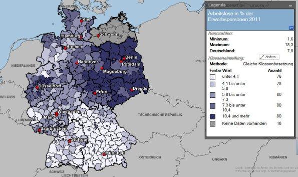 Germany unemployment rates
